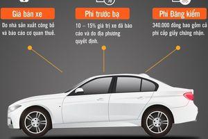 Ôtô mới tại Việt Nam phải 'cõng' những chi phí gì?