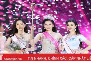 Người đẹp gốc Hà Tĩnh giành danh hiệu Á hậu 1 Hoa hậu Việt Nam 2018