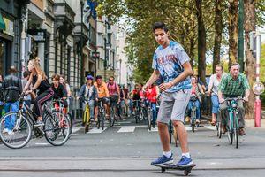 Ngày 'không xe hơi' ở Paris và Brussels
