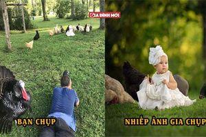 Bộ ảnh cho thấy sự khác biệt giữa một người bình thường với một nhiếp ảnh gia lành nghề