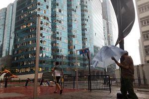 Sức tàn phá khủng khiếp của bão Mangkhut ở Trung Quốc