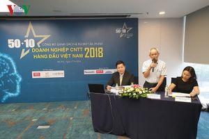 Công bố 50+10 doanh nghiệp CNTT hàng đầu Việt Nam 2018