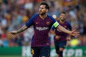 Barca vs PSV (4-0): Messi ghi hat-trick bàn thắng