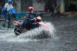 Bắc Bộ tiếp tục mưa do ảnh hưởng của hoàn lưu siêu bão Mangkhut
