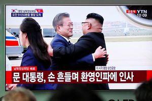 Đích thân Chủ tịch Kim Jong-un ra sân bay đón Tổng thống Hàn Quốc