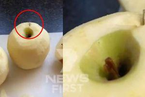 Sau dâu tây, táo của Úc cũng bị phát hiện chứa kim khâu