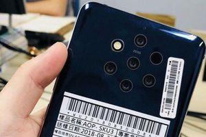 Nokia 9 trang bị 5 camera ở mặt sau trì hoãn ra mắt