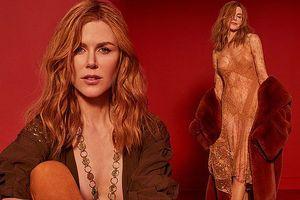 Bước qua tuổi 50, 'thiên nga Úc' Nicole Kidman vẫn rực lửa gợi tình