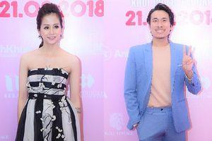 Kiều Minh Tuấn, An Nguy giữ khoảng cách tại buổi công chiếu phim 'Chú Ơi, Đừng Lấy Mẹ Con'
