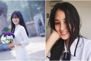 sc thi i hc ca tân Hoa hu Trn Tiu Vy và Á hu Phng Nga: Ai xinh hn khi din áo dài trng?