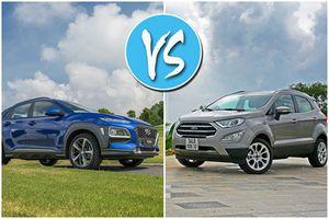 Hyundai Kona và Ford EcoSport: 'Tân binh' thách thức 'ông hoàng'