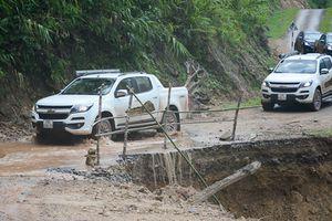 Chevrolet Colorado dc min biên vin: Vt núi st, ngc thác sông