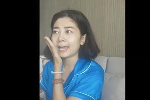 Mai Phương phấn chấn tinh thần trở lại sau một tuần xuất viện về nhà