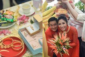 'Phát sốt' với sính lễ 'khủng' trong lễ đính hôn của Hoa hậu Đại dương Đặng Thu Thảo