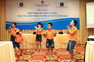 Xây dựng tài liệu chuẩn để hỗ trợ phục hồi chức năng cho trẻ em tự kỷ