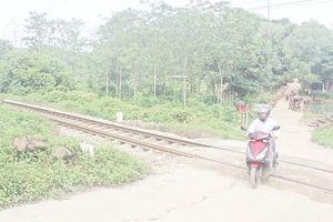 Tăng cường các biện pháp bảo đảm an toàn giao thông đường sắt