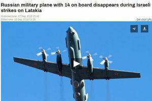 Nga triệu Đại sứ Israel về vụ máy bay Il-20 bị bắn rơi