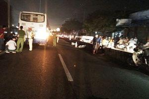 Trèo qua dải phân cách, người đàn ông bị xe khách tông tử vong