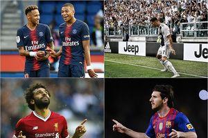 Top 10 ứng viên vua phá lưới Champions League 2018/2019