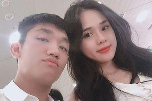 Bạn gái của ngôi sao U23 Việt Nam từng lọt top 5 Hoa hậu Đại dương