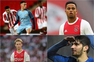 10 tài năng trẻ đáng xem ở Champions League mùa 2018/2019