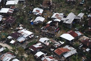 in thm hi v thit hi do bão Mangkhut gây ra  Philippines
