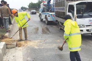 Điểm gợn lớn tại Gói thầu bảo trì Quốc lộ 3 mới