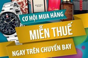 Vietnam Airlines hợp tác với King Power Traveler bán hàng miễn thuế trên máy bay