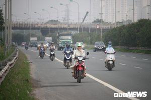 Ban ATGT Hà Nội yêu cầu xử lý xe máy vào Đại lộ Thăng Long sau video chấn động của VTC News