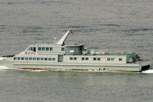 Tàu quân vận Trung Quốc đứt neo, mắc cạn vì siêu bão Mangkhut