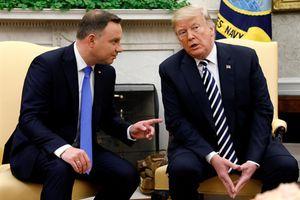 Tổng thống Ba Lan đề xuất chi 2 tỷ USD để Mỹ lập căn cứ 'Fort Trump'
