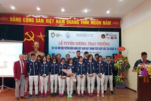 Trao thưởng cho thành tích của Điền kinh VN tại Asian Games 18