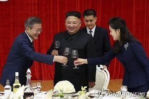 Tổng thống Hàn Quốc dự tiệc, xem ca nhạc trong đêm đầu ở Bình Nhưỡng