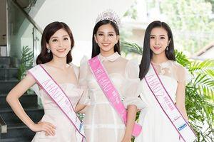 Hình ảnh hoạt động đầu tiên của Top 3 Hoa hậu Việt Nam 2018