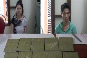 Hải quan Cao Bằng chủ trì bắt giữ 10 bánh heroin