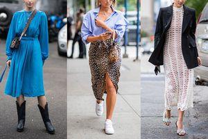 Thu đến chưa biết mặc gì cho đẹp thì cập nhật ngay xu hướng 'gây bão' Tuần lễ thời trang New York mới đây