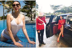 Cuộc sống xa hoa, thân hình nóng bỏng vạn người mê của người đẹp nhỏ tuổi nhất đăng quang Hoa hậu Việt Nam