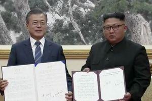 Lãnh đạo Triều Tiên, Hàn Quốc ra 'Tuyên bố chung Bình Nhưỡng tháng 9'