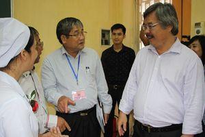 Tổng Cục trưởng Nguyễn Hồng Minh làm việc với Ban Tổ chức Hội giảng nhà giáo GDNN