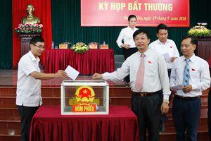 HĐND huyện Hoằng Hóa tổ chức kỳ họp bất thường bầu Chủ tịch UBND huyện, nhiệm kỳ 2016 -2021