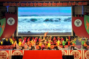 Tôn vinh bản sắc văn hóa các dân tộc vùng Đông Bắc Quảng Ninh