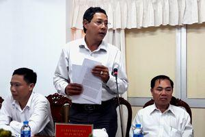 Bộ trưởng Bộ Nội vụ Lê Vĩnh Tân khảo sát và làm việc thành phố Cần Thơ