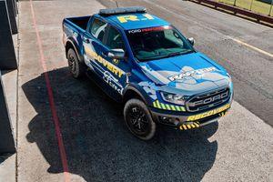 'Soi' Ford Ranger Raptor phiên bản cứu hộ của giải Supercars