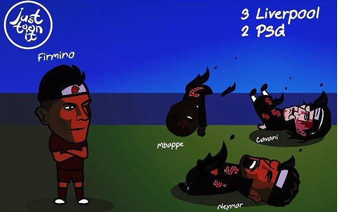 Biếm họa 24h: Ronaldo chào thua Messi, 'Người hùng một mắt' Firmino