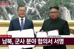 Triều Tiên – Hàn Quốc ký thỏa thuận chung tại hội nghị thượng đỉnh Bình Nhưỡng