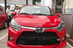 Xe giá rẻ Toyota Wigo về đại lý, sẵn sàng giao đến tay khách hàng