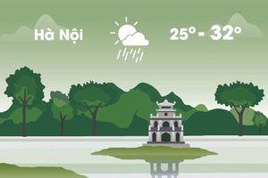 Thời tiết ngày 20/9: Hà Nội nắng ráo, Sài Gòn mưa dông