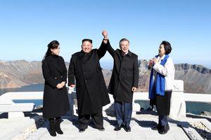 Thăm núi Paekdu, Tổng thống Moon hoàn thành tâm nguyện cả đời