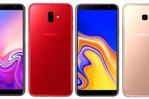 Samsung công bố Galaxy J4+ và J6+ có cảm biến vân tay, pin 3.300 mAh
