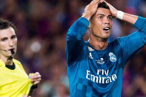10 lần nhận thẻ đỏ của Ronaldo trước khi chơi cho Juve
